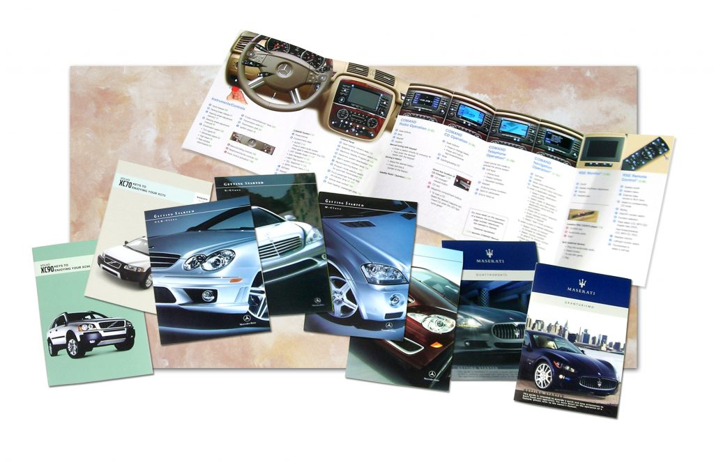 Product Brochures for Volvo